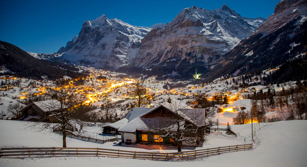 Grindelwald im Winter