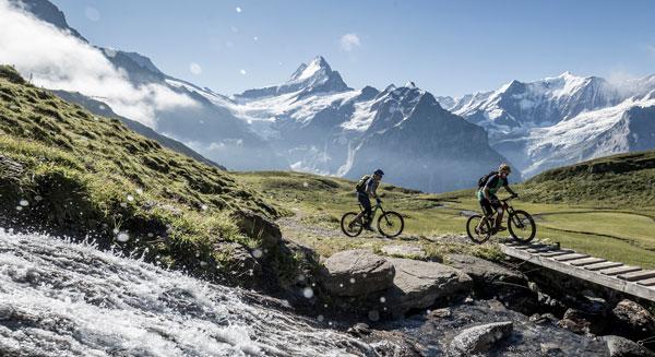 Biken in Grindelwald