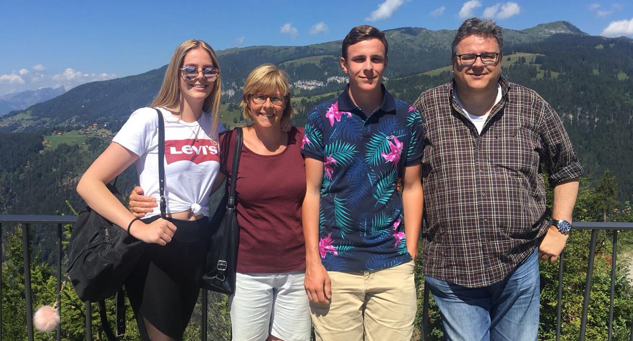 Gastgeber Familie Stoldt Chalet Anemone Grindelwald
