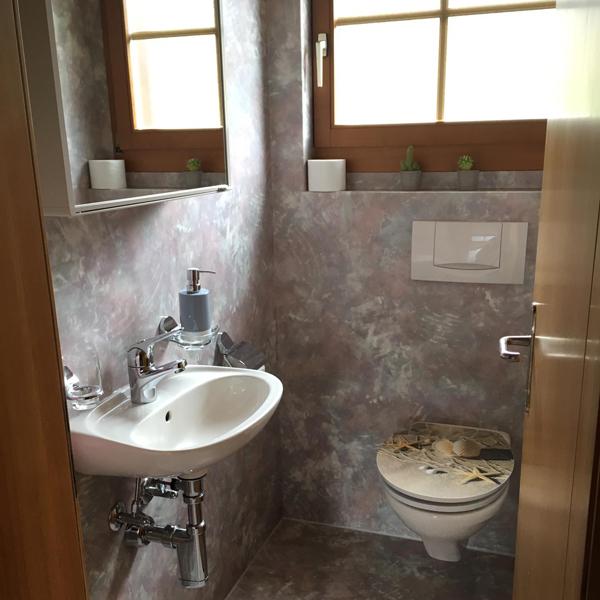 Kleines Badezimmer - Chalet Anemone Grindelwald