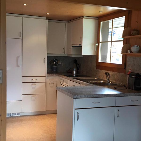 Küche - Chalet Anemone Grindelwald