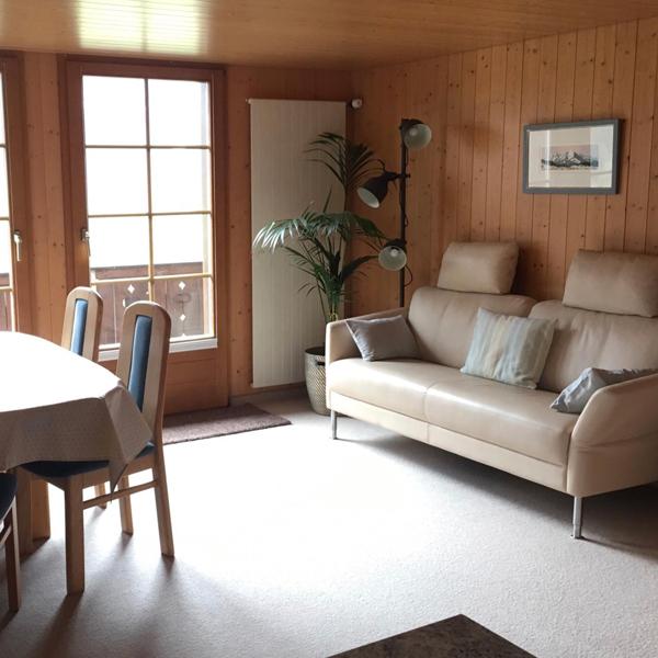Wohnzimmer - Chalet Anemone