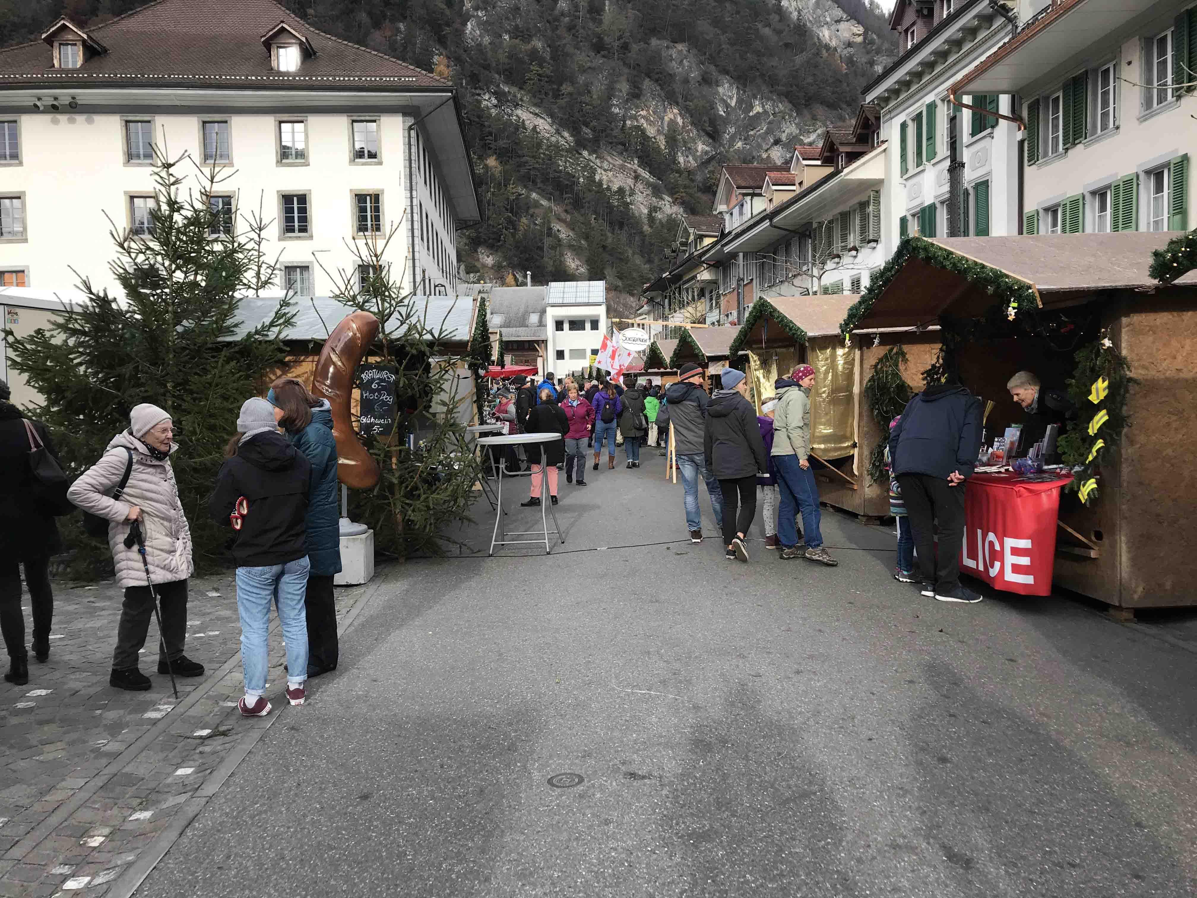 Ferienwohnung Chalet Anemone Grindelwald-Weihnachtsmarkt in Unterseen