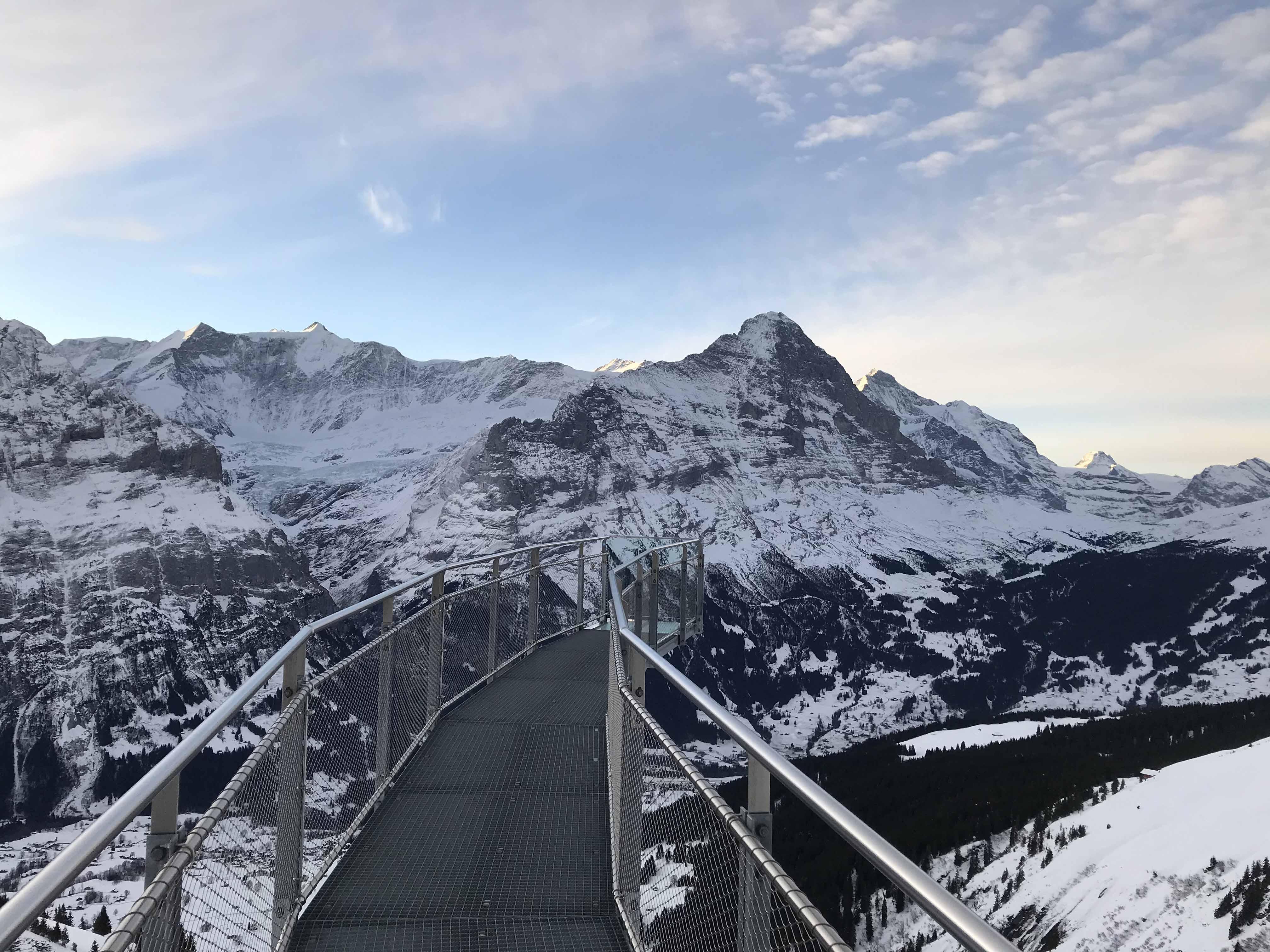 Ferienwohnung Chalet Anemone Grindelwald-First Cliff Walk by Tissot