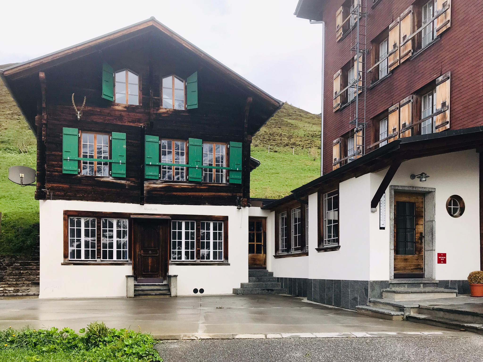 Ferienwohnung Chalet Anemone Grindelwald-Wengernalp Restaurant