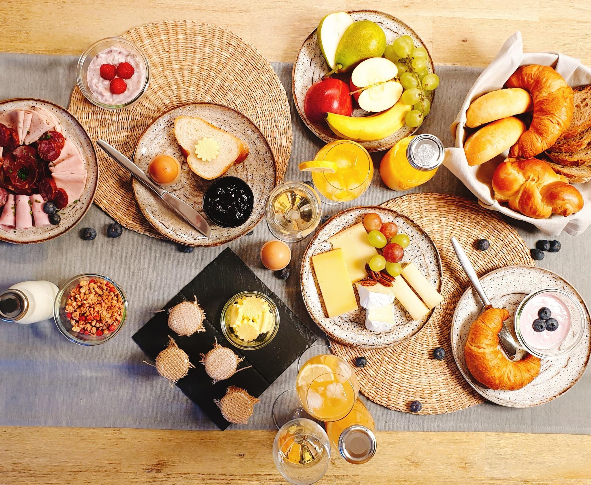 Breakfast Service Chalet Anemone Grindelwald