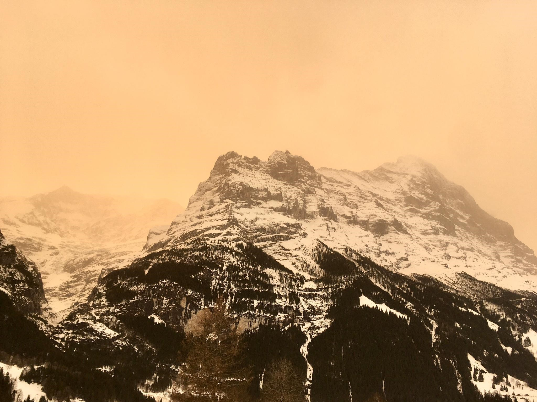Saharastaub in Grindelwald - Chalet Anemone