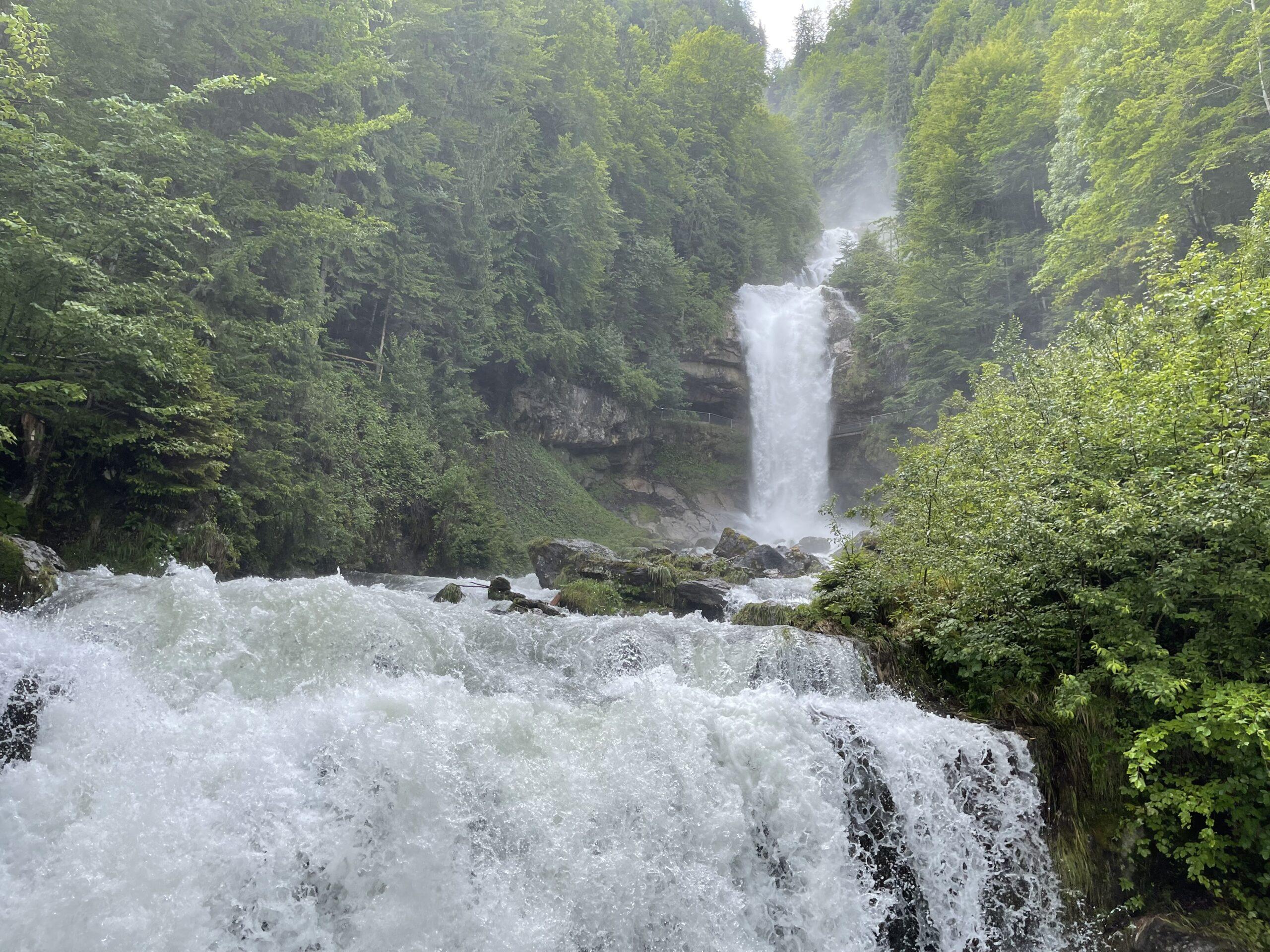 Giessbachfälle Ausflugstipp Chalet Anemone
